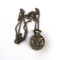 Hodinky so sovou - náhrdelník
