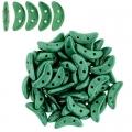 Crescent - Saturated Metallic-Emerald Green (77044CR), 50 pcs
